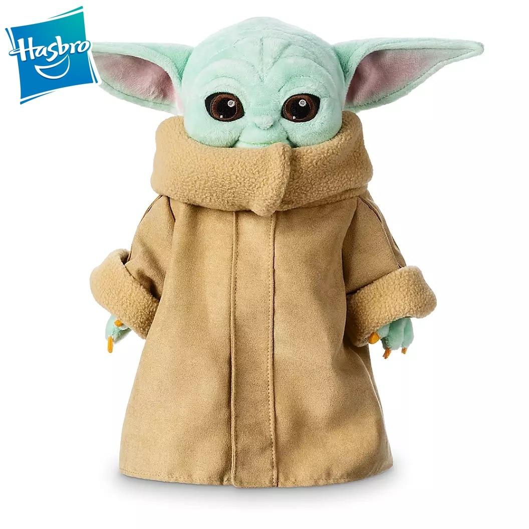 Hasbro Star Wars 30cm Baby Yoda Children Plush Toys Cartoon Cute Kid Stuffed Toy For Kids