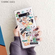 YHBBCASES Cartoon S11 Funny Spirits Clear Soft Case For Samsung Galaxy S10 5G S8