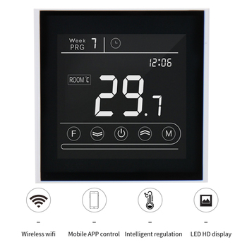 Intelligent APP Control Thermostat Temperature Controller for Water/Electric Floor Heating,Water/Gas Boiler Makerele MK70