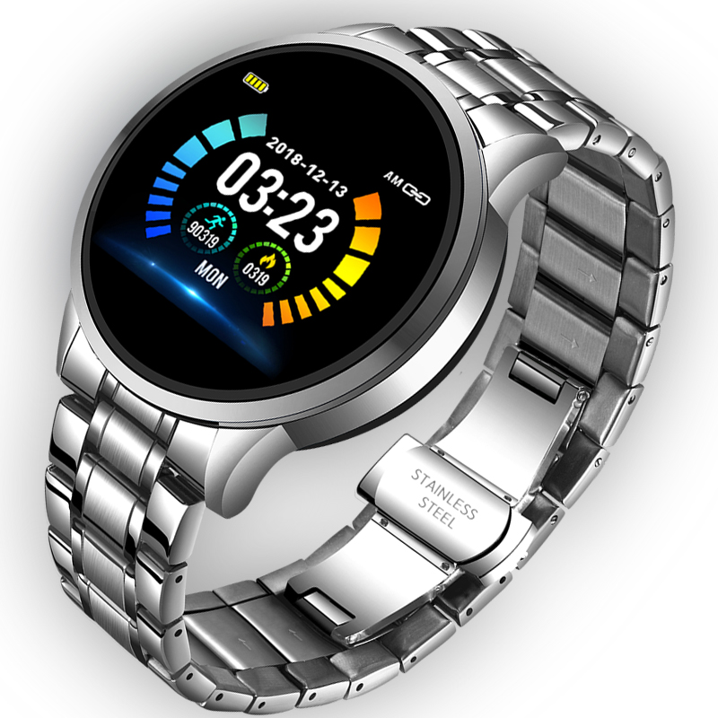 LIGE 2020 Smart Watch Men Heart Rate Blood Pressure Information Reminder Sport Waterproof Smartwatch smart band for Android iOS 1
