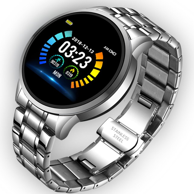 Waterproof Smartwatch with Heart Rate Blood Pressure New Collection Mens Watches