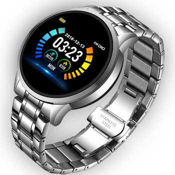 Orologio Smart da uomo LIGE 2020, cardiofrequenzimetro, promemoria informazioni sulla pressione sanguigna, Sport, Smartwatch impermeabile, cinturino intelligente per Android iOS