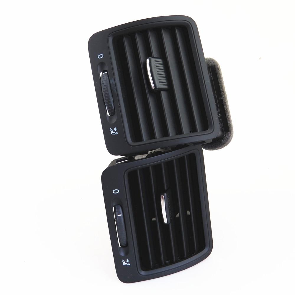 FHAWKEYEQ L & R вентиляционные отверстия для автомобильного кондиционера для VW Jetta MK5 Golf MK5 Rabbit 1KD 819 203 1KD819703 1KD 819 704 1K0 819 710 - 4