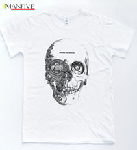 Skull Illuminati Pyramid T-shirt Dollars Money Tee NWO Swag Indie Tumblr Top O-Neck Fashion Casual High Quality Print T Shirt