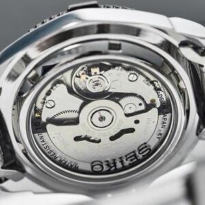 Image 5 - seiko watch men 5 automatic watch Luxury Brand Waterproof Sport Wrist Watch Date mens watches diving watch relogio masculin snzb