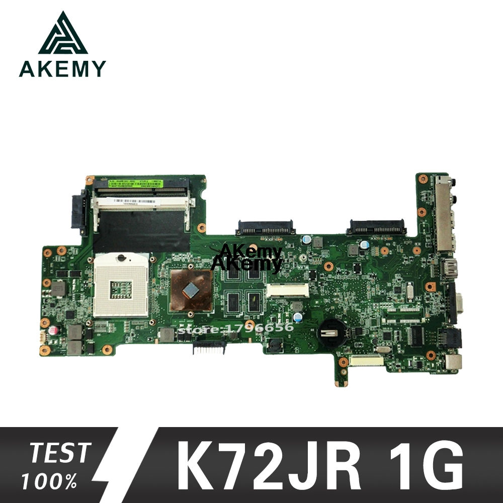 K72JR Motherboard For Asus K72JT K72JK K72JU K72J X72J Laptop Motherboard REV 2.0 Memory Test Work 8 PM 100%