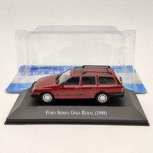 1/43 IXO فورد سييرا غيا الريفية 1988 العاب دييكاست الحمراء نماذج مجموعة هدايا السيارات
