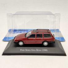 1/43 IXO Ford Sierra Ghia Rural 1988 juguetes de fundición roja modelos colección regalo para el coche
