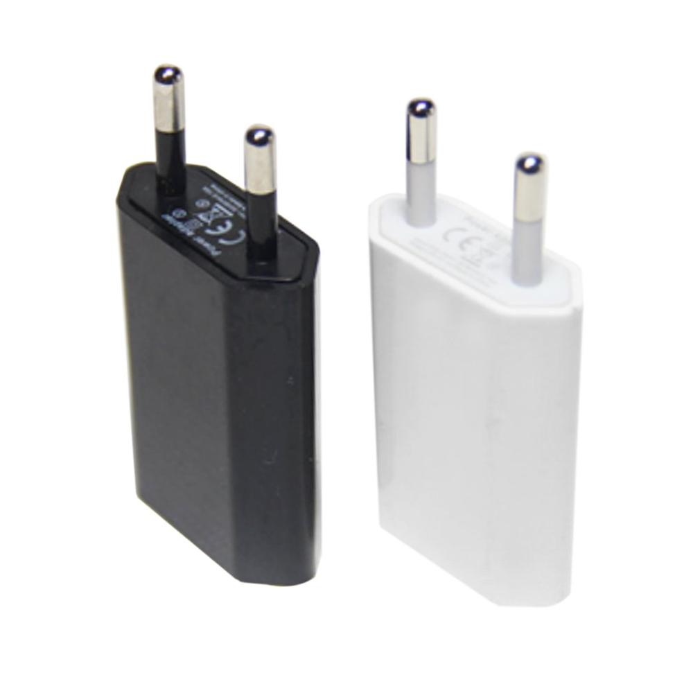 5V 1A EU Plug Adapter USB Wall Charger For Samsung Iphone Xiaomi Mobile Phone Charger Universal Travel AC Power Charger