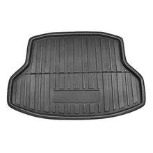 X Autohaux PE + EVA пенопласт, грязный черный чехол для багажника, подкладка для багажника, коврик для ковра, напольный поднос, чехол для Honda Civic Sedan 2006 2018