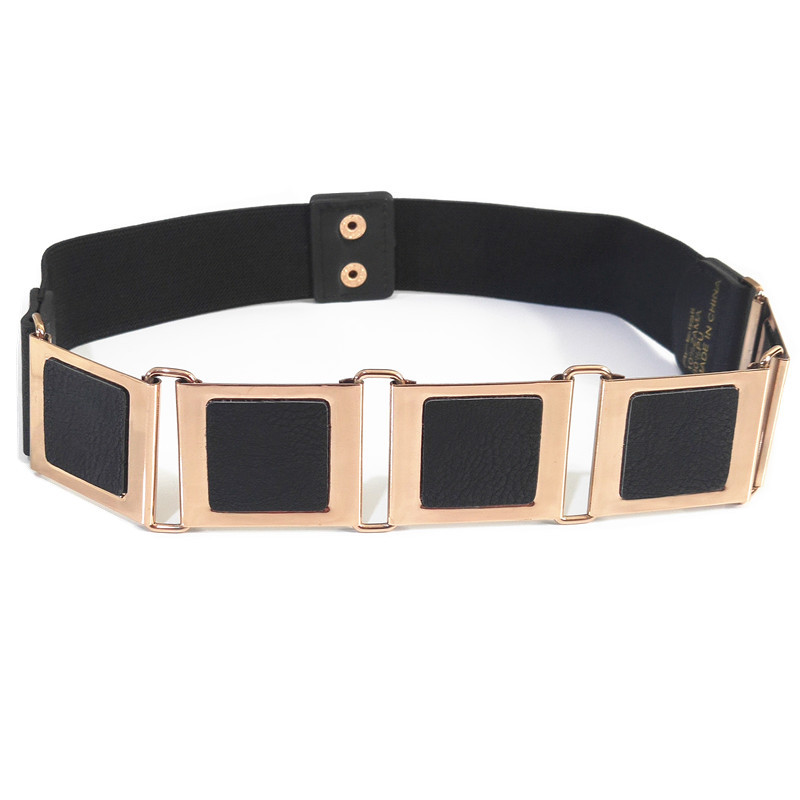 Women's Belt Breathable Sequins Wide Female Belt Corset Bust Elastic Belt Belt Women's Elastic Band Large Female Belt Strap