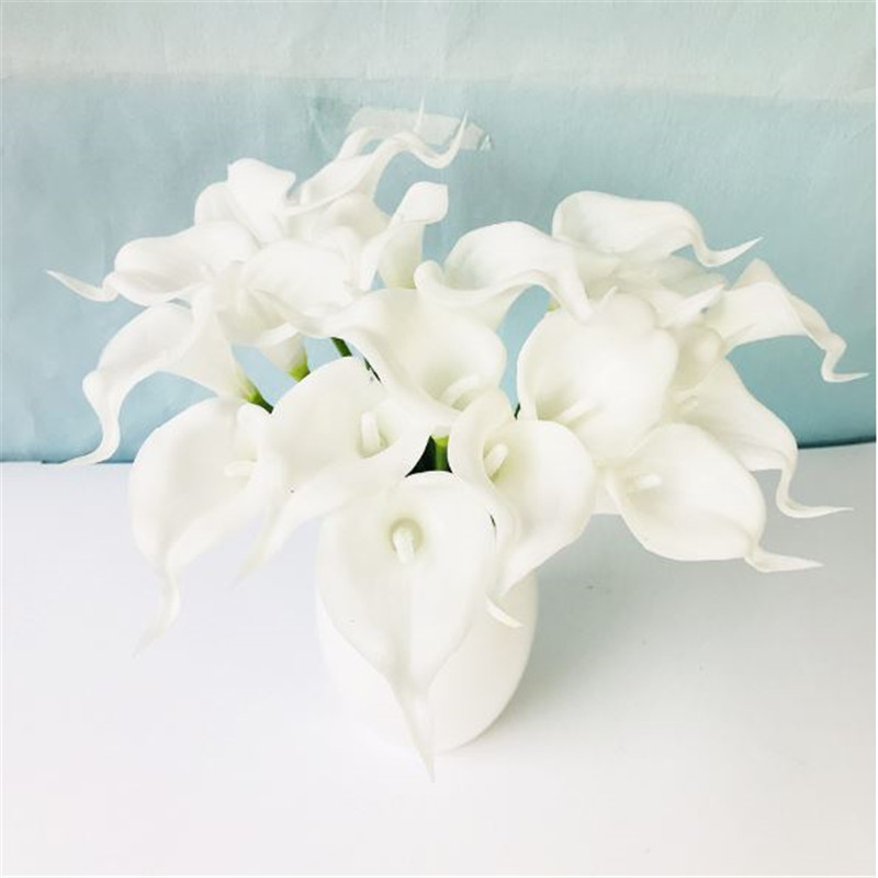 1PC PU Mini Tulips Artificial Flowers For Home And Wedding Decoration Flowers 33