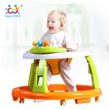 HOLA 2103 Little Learners 3-in-1 Walker & Activity Toy with Music/Light/Electronic Keyboard(China)