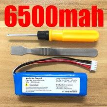 6500mah para jbl carga 3 bateria gsp1029102a