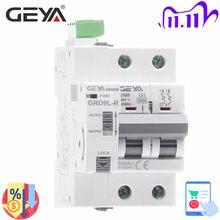 Disjoncteur automatique de Rail de GEYA Din Mini disjoncteur GRD9L-R GYM9 2P MCB 6KA MCB intelligent avec le certificat de la CE