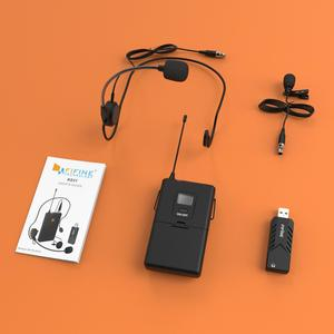 Image 5 - FIFINE Wireless Lavalier Microphone for PC Mac with USB Receiver Free Your Hands for Interview Recording Speech Podcast  031B