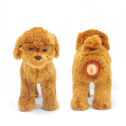 Plush Dog Toy to Separate Anxiety Relief for Calming Male Dogs Teddy Play Toy French Bulldog Pet Estrus Toys for Male Dogs