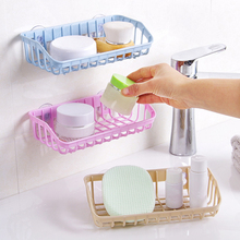 Rack Sink-Shelf Soap-Sponge-Holder Suction-Cup Kitchen-Accessories Hanging-Storage Multifunctional