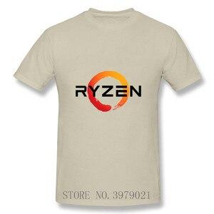 ПК CP CPU Uprocessor AMD RYZEN футболка geek programmer tees игровая camiseta компьютерная ZEN peripheres крутая хлопковая Футболка geek