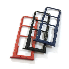 Sim-Tray-Holder for Samsung Galaxy A10s/A107/A107f/Sim-card-tray Adapter Socket Repair-Parts