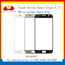 10Pcs/lot Touch Screen For Samsung Galaxy S7 G930 G930F SM-G930F Touch Panel Front Outer S7 LCD Glass Lens Replacement все цены