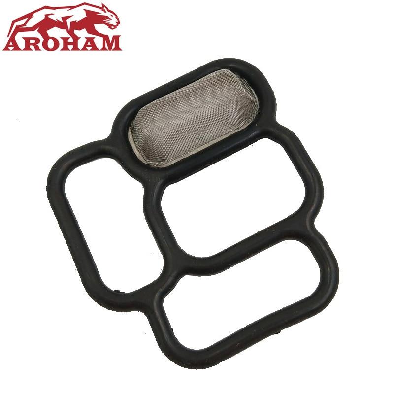 Aroham Best Quality 15825-PCX-015 15825PCX015 For Honda S2000 VTEC Solenoid Gasket AP1 AP2 F20c F22c Spool Valve Filter