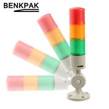 Промышленный многослойный стек светильник светодиодный сигнальная башня предупредительный светильник для машинного оборудования складн...