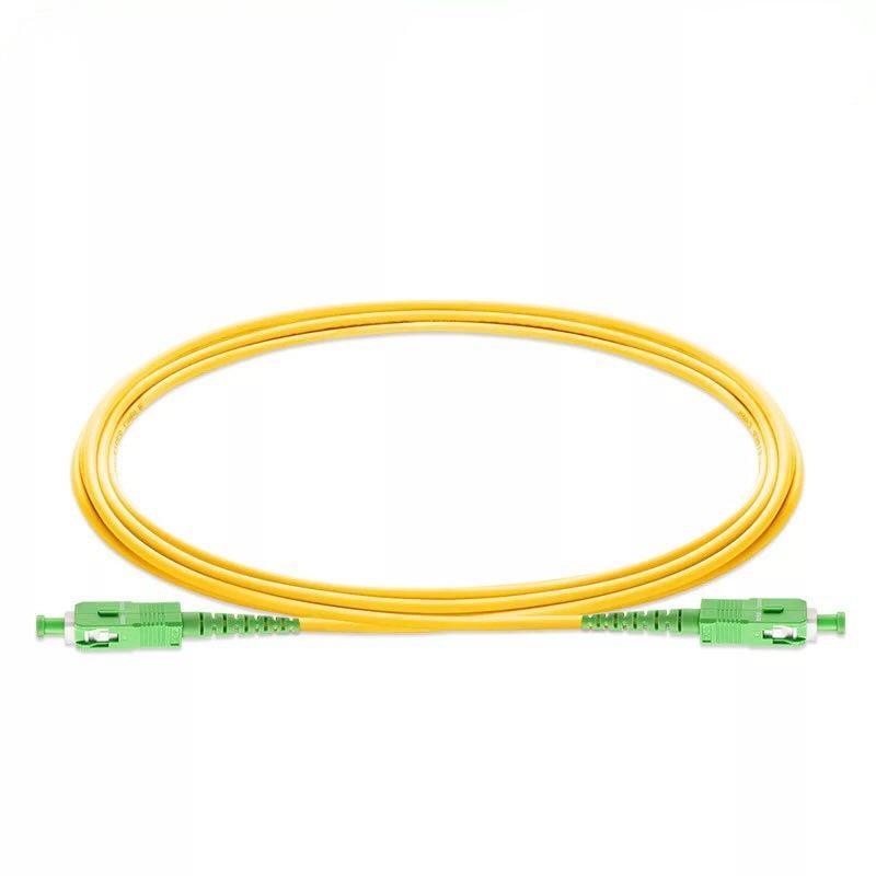 10PCS/bag SC APC Simplex mode fiber optic patch cord Cable  3.0mm FTTH  LSZH Fiber Optic Patch Cord 4