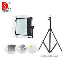 140W Yidoblo LED אור Pro צילום סטודיו פנל LED מנורת אור D 2000II ביו צבע אור LED וידאו תאורה 3200 K 5500 k + Tri
