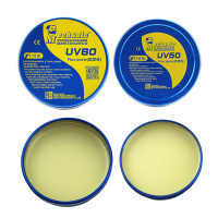 MECHANIC MCN-UV80 UV50 No-Clean Paste Flux Soldering Tin IC Parts Soldering Lron Welding Fluxes For PCB/BGA/PGA/SMD