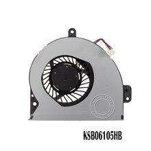 Novo e Original Para ASUS FÃ KSB06105HB-AL10 K53SV DC05V 0.40A