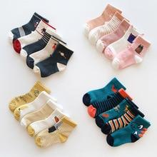 Warm Socks Children's CN Girl Baby Teens Winter Kids Cartoon Cotton Cute Fashion 5-Pairs/Lot