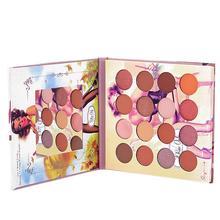 Nuevo estilo Vintage 16 colores sombra de ojos paleta de sombra de ojos purpurina impermeable maquillaje de pigmento brillante