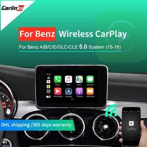 무선 Apple Carplay/Andorid 자동 차 개조 메르세데스 NTG5.0 2015-2017 지원 역방향 카메라 \ 지도
