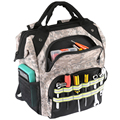 Рюкзак для инструментов для ремонта электрика, органайзер для хранения, сумка большой емкости, водонепроницаемая сумка для инструментов, м...