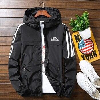 Men's jacket spring and autumn fashion printed slim shirt men's casual baseball bomber zipper jacket men's jacket large size new patched printed bomber jacket