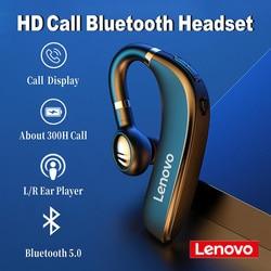 2020 New Lenovo HX106 Bluetooth 5.0 headset Handsfree Headphones Wireless Earphone Earbud Earpiece With HD Mic For iPhone xiaomi