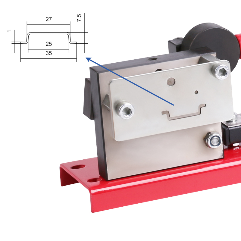 Cutting Din Measure Rail Rail Tool Multifuntional Gauge Din Easy Cut With Cutter