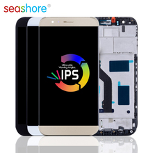 """5.5""""ORIGINAL For HUAWEI G8 LCD Touch Screen Digitizer Assembly For Huawei Ascend G8 Display with Frame Replacement GX8 Screen стоимость"""