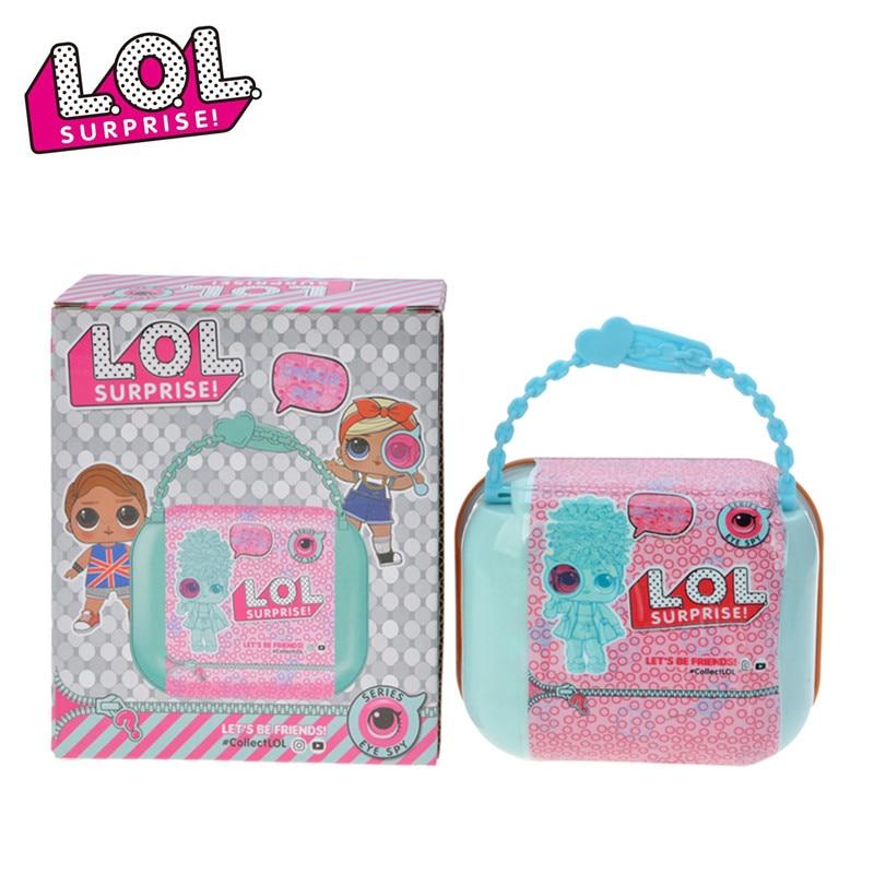 Original L.O.L. SERPRISE! Dolls Unpacking Dress LOL Doll Figures Action Toys Anime Educational Novelty For Kid's Birthday Gift