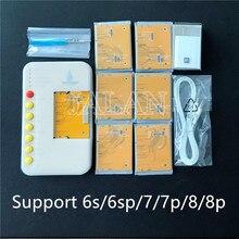 多機能テスターのための iPhone 6 s/6sp/7/7 1080p/8/8 1080p オリジナル/ aftermaket 液晶 3D タッチ光センサーと真のトーン修復ツール