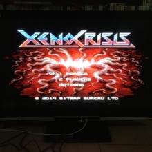 MD игра: XENO CRISIS(все регионы! Для 8 языков страны