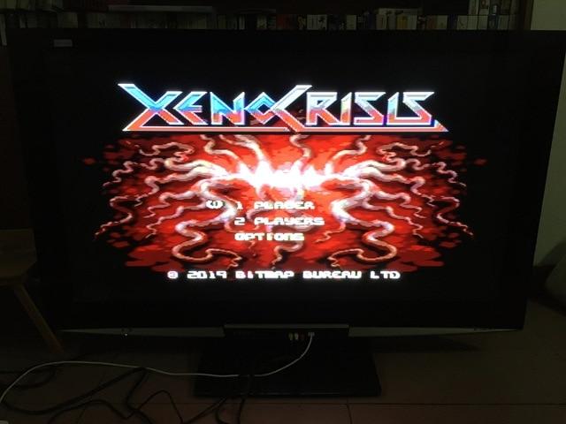 MD ゲーム: XENO 危機 (すべて!! 8 のための国の言語!!)