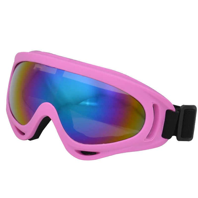 Лыжные очки с защитой от УФ-лучей для мужчин и женщин
