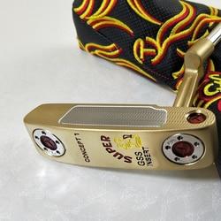 Neue Modell Limited Edition Konzept 1 Schwarz Putter Gold farbe Rot Grip Weiß Putter Headcover Availa