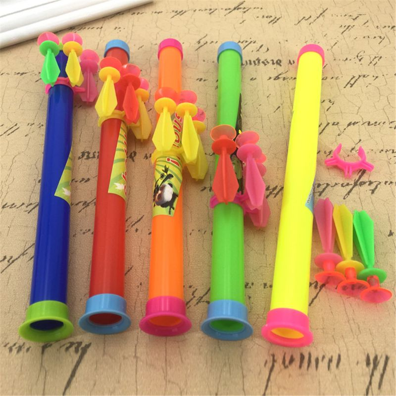 Blow Darts With Sucker Party Favors Kids Toy Gag Joke Gift Sports Game