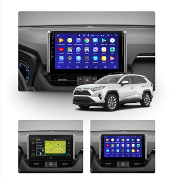 car dvd player For Toyota RAV4 2018 2019 2020 Android 10.0 GPS Navigation Multimedia Auto Radio Player stereo HeadUnit dsp BT image