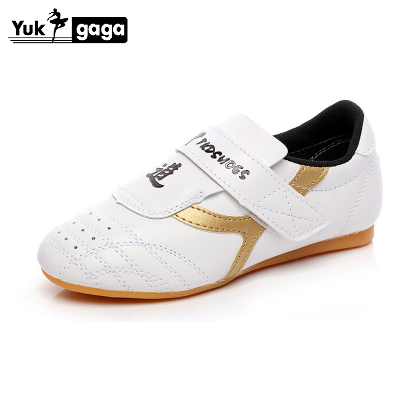 Taekwondo Shoes White Men's Sports Shoe High-quality Breathable Karate Martial Arts Wrestling Sneakers Kids