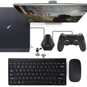 Image 3 - Los datos de la rana PUBG móvil juegos por cable de teclado conversor de ratón para PS4 Xbox one/360 Nintendo interruptor PS3 consola/Android SISTEMA DE