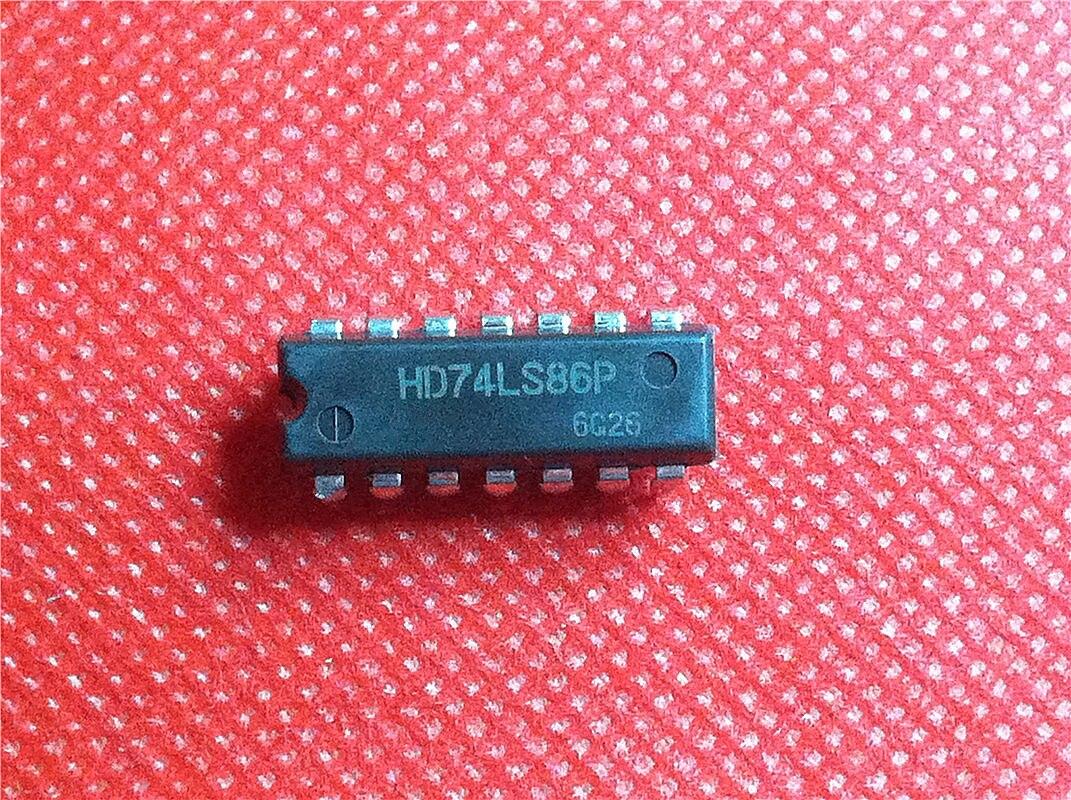 1pcs/lot HD74LS86P HD74LS86 SN74LS86N 74LS86 DIP-14 In Stock
